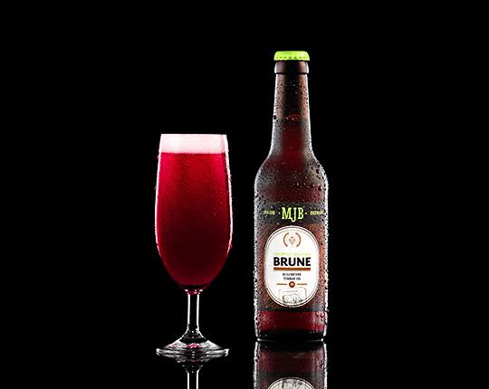 Пиво MJB Belgian Brune Organic бельгийский тёмный эль, 0,33 л.