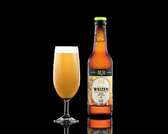 Пиво mjb weizen organic немецкое пшеничное, 0,33 л