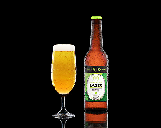 Пиво mjb premium lager organic классический лагер, 0,33 л