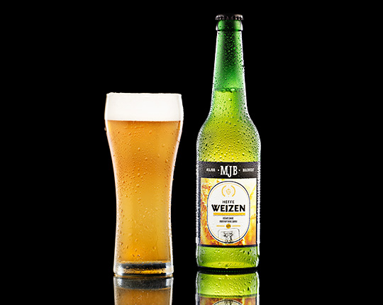 Пиво MJB Weizen немецкое пшеничное, 0,5 л
