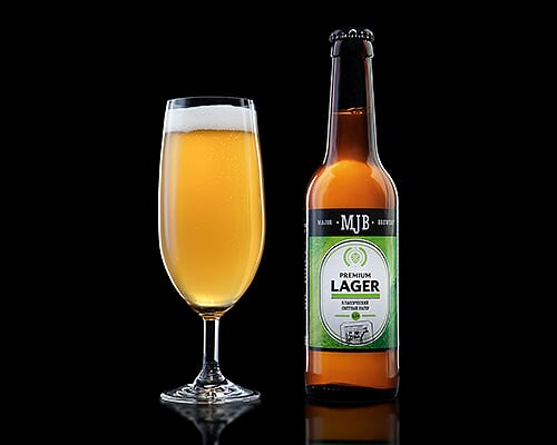 Пиво MJB Premium lager классический лагер, 0,5 л
