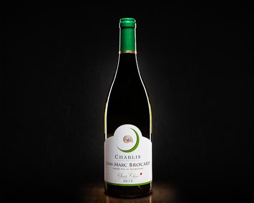 Chablis jean-marc brocard вино сухое белое, 0,75 л
