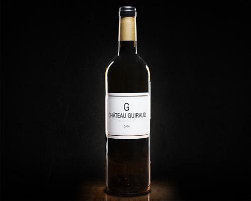 """Le """"g"""" de chateau guiraud вино сухое белое, 0,75 л"""
