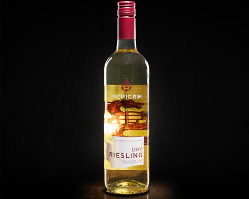 Pacific rim dry riesling вино полусухое белое, 0,75 л