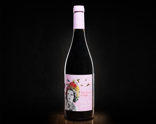 En la parra tinto joven ecologico вино сухое красное, 0,75 л