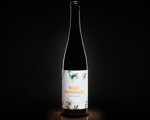 Belle naturelle вино столовое сухое белое, 0,75 л