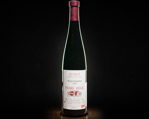 Pierre frick, bergweingarten вино полусухое белое, 0,75 л