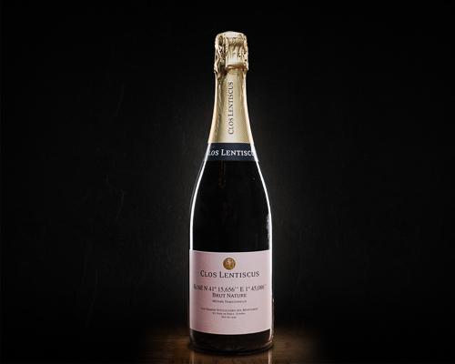 Clos lentiscus, rose №41 brut nature вино игристое экстра брют розовое, 0,75 л