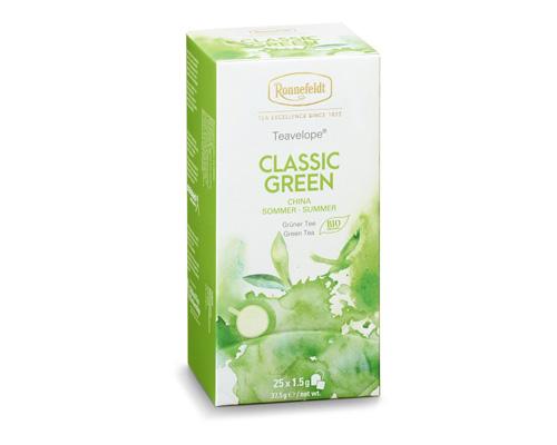 Чай зелёный классический, пакетированный, 37,5 г