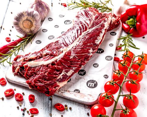 Стейк мясника из говядины, охладженный