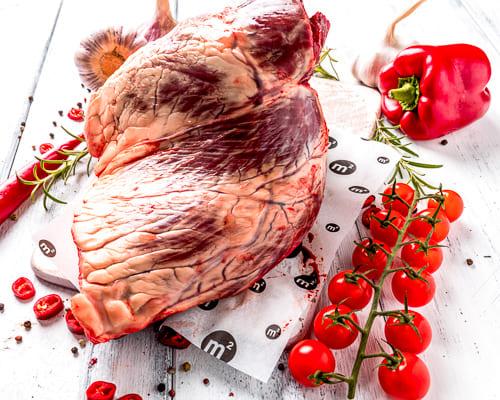 Сердце говяжье шоковая заморозка