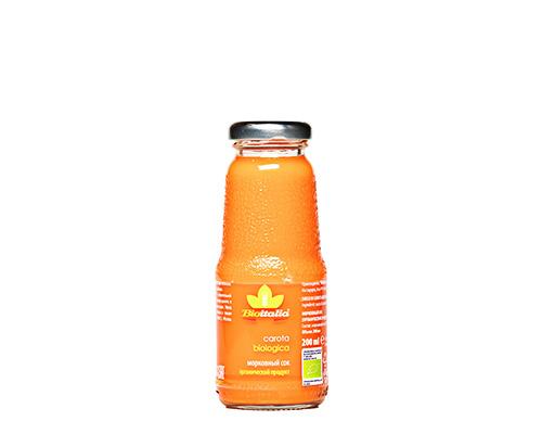 Сок морковный 200 мл