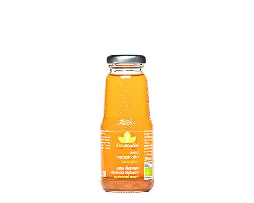 Сок яблочный с бергамотом, 200 мл