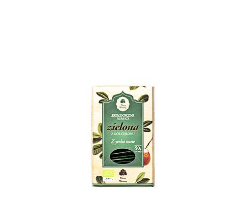 Чай зелёный с йерба мате, пакетированный, 50 г
