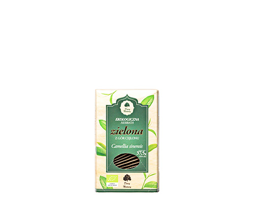 Чай зелёный цейлонский, пакетированный, 37,5 г