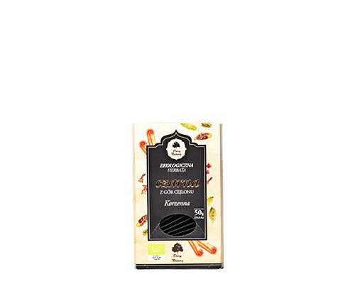 Чай чёрный пряный, пакетированный, 50 г