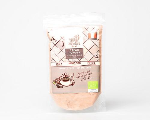 Какао-порошок необработанный, 150 г