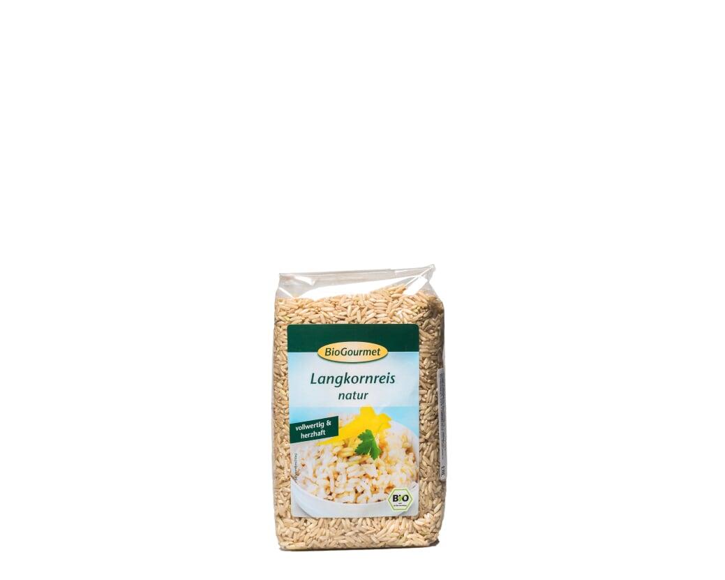 Рис бурый длиннозерный, 500 г