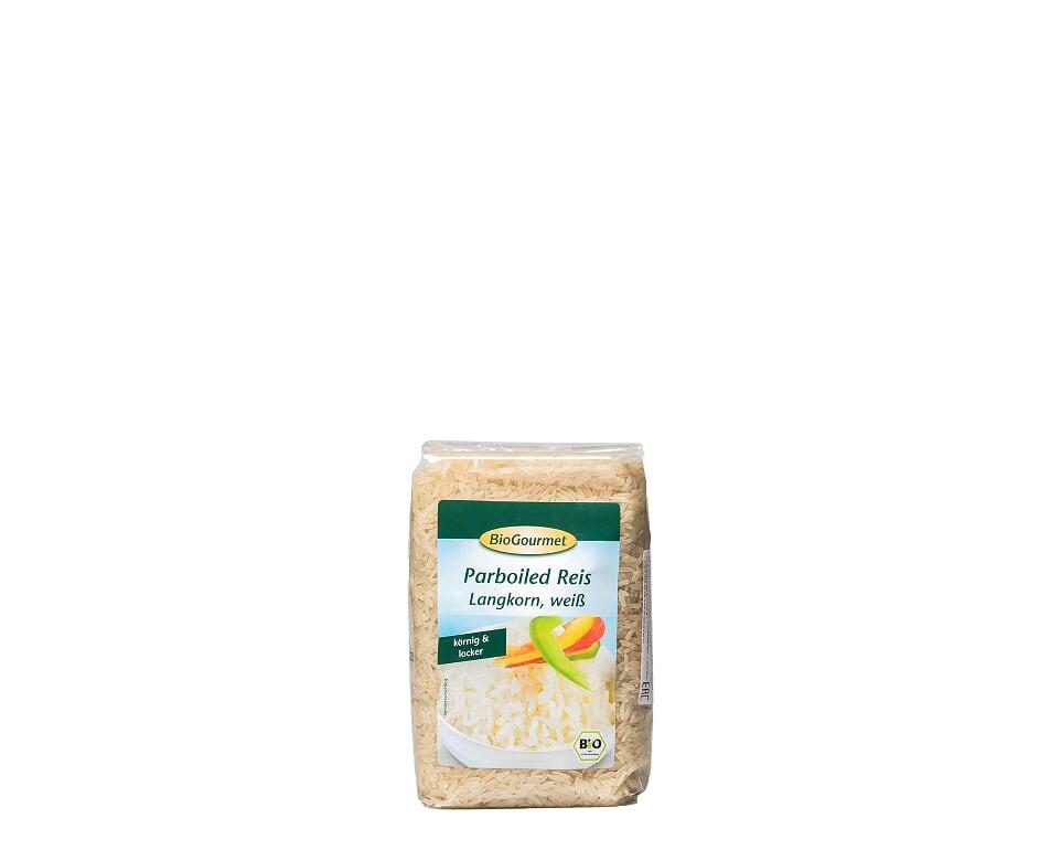 Рис пропаренный, белый, 500 г