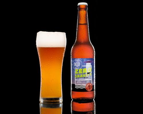 Пиво MJB Zero Gravity APA, безалкогольное, 0,5 л