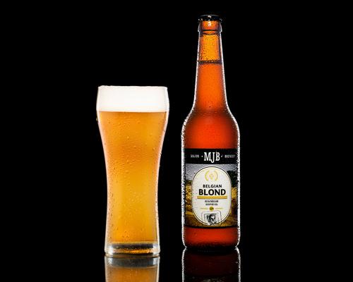 Пиво MJB Belgian Blond бельгийский золотой эль, 0,5 л