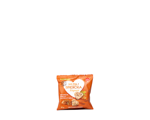 Мини-снеки мюсли с кленовым сиропом и орехами пекан, 50 г