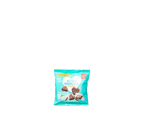 Мини-снеки мюсли с кокосом и шоколадом, 50 г