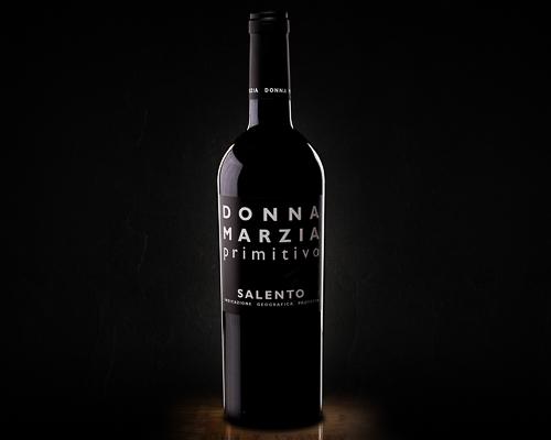 Donna marzia primitivo красное полусухое, 0,75 л