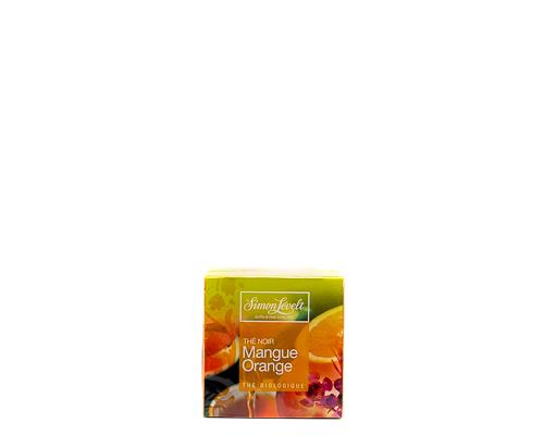 Чёрный чай манго-апельсин, пакетированный, 17,5 г