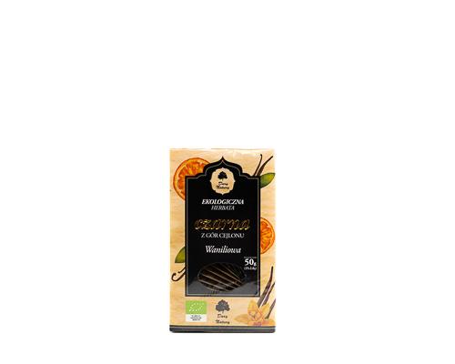 Чай черный с ванилью и апельсином, 50 г