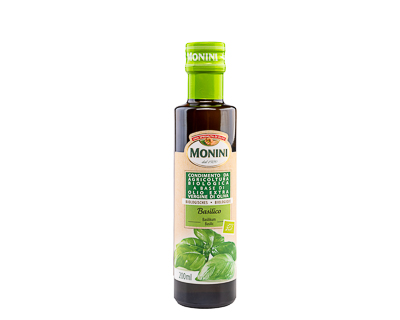 Масло оливковое с ароматом базилика, 200 мл