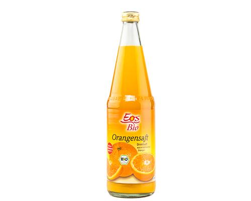 Сок апельсиновый без сахара, 700 мл