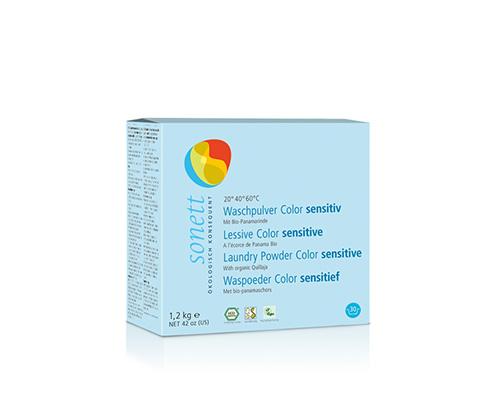 Порошок стиральный для цветных тканей для чувствительной кожи, 1200 г
