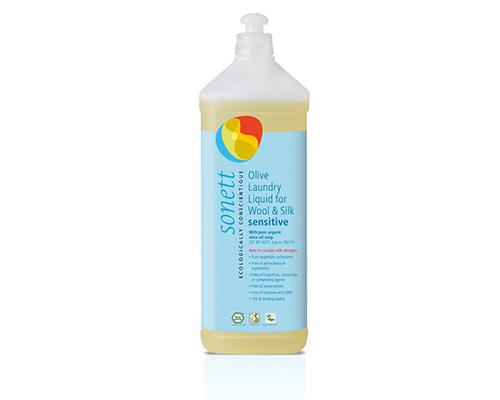 Средство для стирки жидкое для изделий из шерсти и шелка, гипоаллергенное, 1000 мл