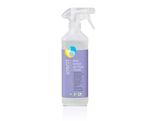Средство чистящее для стекол и других поверхностей с маслом лаванды и лемонграсса, 500 мл