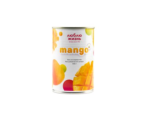 Пюре манго без сахара, 430 г