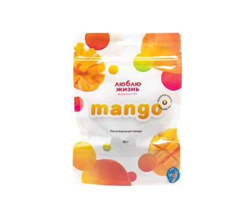 Манго сушеное без сахара, 80 г