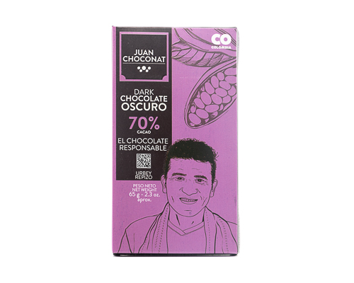 Шоколад темный 70%, 65 г