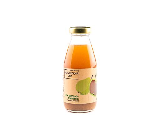 Сок яблочно-грушевый прямого отжима, 300 мл