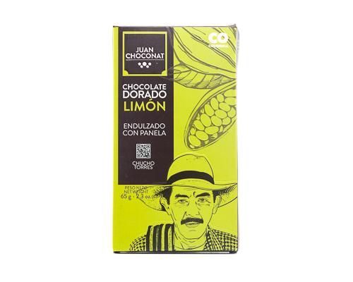 Шоколад белый с лимоном, 65 г