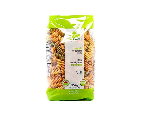 Фузилли цветные из твёрдых сортов пшеницы, 500 г