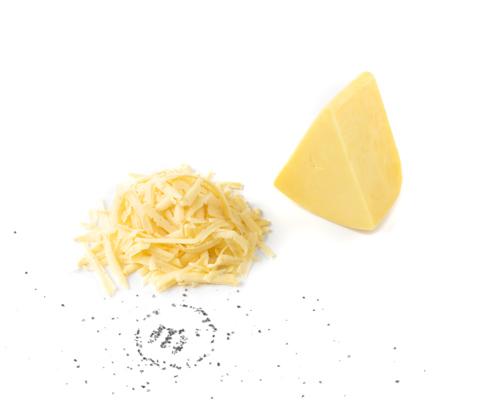 Сыр Сливочный тертый из коровьего молока, на развес