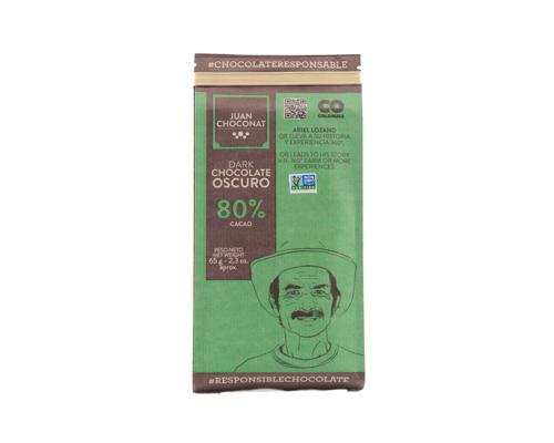 Шоколад темный 80% какао, 65 г