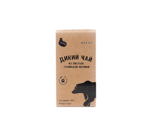 Чай дикий из молодых листьев гурийской черники, 45 г