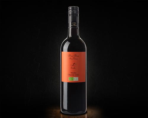Био Био Мерло вино столовое красное полусухое, 0,75 мл