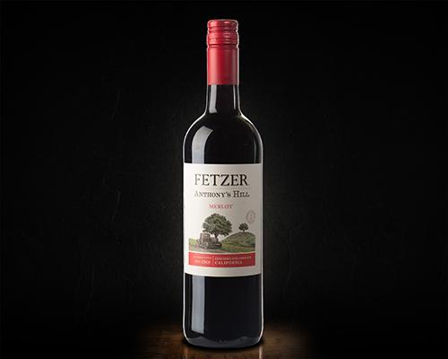 Anthony's Hill Merlot, Fetzer вино красное полусухое, 0,75 л