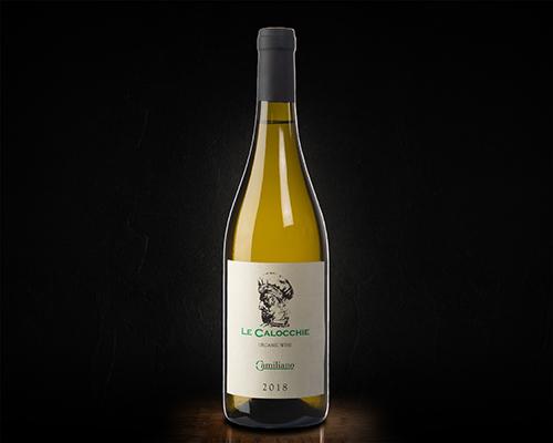 """Тоскана Камильяно """"Ле Калокье"""" Верментино вино сухое белое, 0,75 л"""