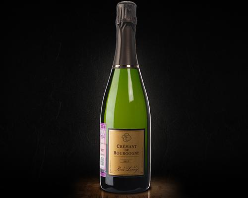 Креман де Бургонь Рене Лами вино игристое белое брют, 0,75 л