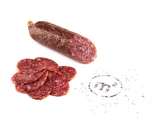 Колбаса Зернистая сырокопченая