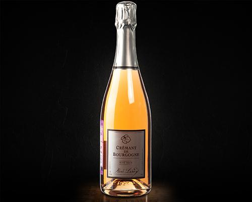 Rene Lamy, Cremant de Bourgogne  вино игристое сухое розовое, 0,75 л